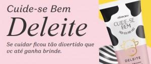 www.boticario.com.br/promocuidesedeleite - Promoção Boticário 2019 Creme Grátis Deleite