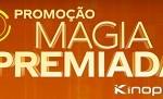 kinoplex.com.br/magiapremiada, Promoção Magia Premiada Kinoplex Cinemas