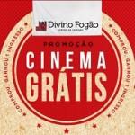 Promoção Divino Fogão Cinema Grátis 2019