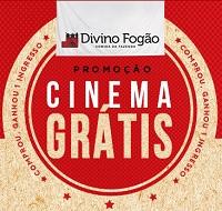 promodivino.com.br, Promoção Divino Fogão Cinema Grátis