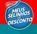 www.extra.com.br/meusselinhosdedesconto, Promoção Extra Meus Selinhos de Desconto