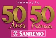 www.promocaosanremo.com.br, Promoção Sanremo 50 anos