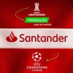 www.santander.com.br/promocaofutebol, Promoção Santander Lance de campeão