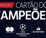 www.santander.com.br/uefacartoes, Promoção Santander Cartão dos Campeões