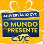 www.promocaoaniversariocvc.com.br, Promoção Aniversário CVC 2019