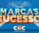 www.cec.com.br/promocaomarcasdesucesso, Promoção Marcas de Sucesso C&C