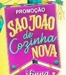 www.promofinna.com.br, Promoção Finna São João de cozinha nova