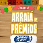 www.arraiagomesdacosta.com.br, Promoção Arraiá Gomes da Costa