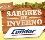www.condor.com.br/inverno, Promoção Condor Sabor de inverno
