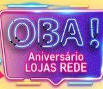 www.lojasrede.com.br/aniversario, Promoção Lojas Rede Aniversário 2019