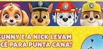 www.nicksunnypuntacana.com.br, Promoção Sunny e Nick Patrulha Canina