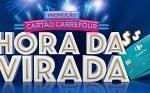 www.carrefoursolucoes.com.br/promocao, Promoção Cartão Carrefour hora da virada