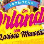 Promoção Tele Sena Orlando com Larissa Manoela