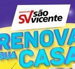 Promoção Supermercado São Vicente 2020 renova sua casa