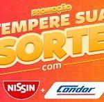 www.condor.com.br/nissin, Promoção Condor e Nissin tempere sua sorte