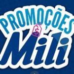 www.mili.com.br/promocoes, Promoções Mili 2020