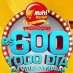sorteio.redemultimarket.com.br, Promoção Multi Market prêmio todo dia