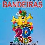 www.bandeiras20anos.com.br, Promoção Supermercado Bandeiras 20 anos